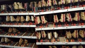 Rollerskates alugados imagem de stock