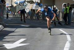 Rollerskates Race-22 Arkivfoto