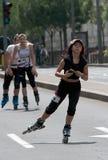 Rollerskates Race-34 Foto de archivo