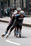 Rollerskates Race-31 Fotografía de archivo libre de regalías