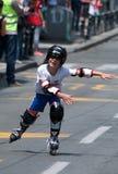 Rollerskates Race-42 Fotografía de archivo libre de regalías