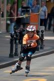 Rollerskates Race-41 Imagenes de archivo