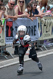 Rollerskates Race-37 Stock Images