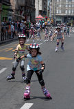 Rollerskates Race-33 Royalty Free Stock Photography