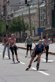 Rollerskates Race-35 Royalty Free Stock Photography