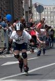 Rollerskates Race-39 Stock Image