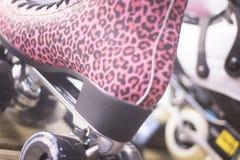 Rollerskates w łyżwowym sklepie Zdjęcia Stock