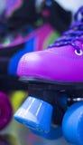 Rollerskates w łyżwowym sklepie Zdjęcia Royalty Free