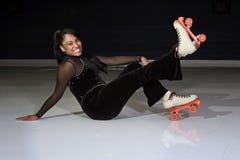 Free Rollerskating Girl Stock Photo - 21543760