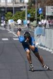 Rollerskating Race-11 Photo libre de droits