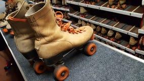 Rollerskating retro fotografia de stock royalty free