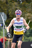 Rollerskiing Championships Stock Image