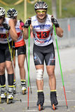 Rollerskiing Championships Royalty Free Stock Images