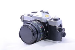Rollfilmkamera des einzelne Linsen-Reflexes 35mm Lizenzfreie Stockbilder