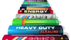 Rolling batteries