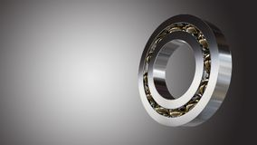 Rolling bearing 3d Royalty Free Stock Photos