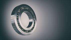 Rolling bearing 3d. Illustration Stock Images