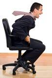 Rolling businessman Stock Photos