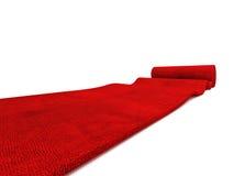 Rolling carpet Royalty Free Stock Photo