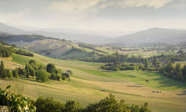 Rolling countryside Stock Photo