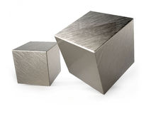 Rolling cubes Stock Images