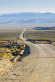 Rolling Desert Road Royalty Free Stock Images