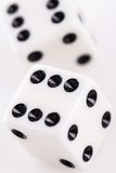 Rolling dice Stock Photography
