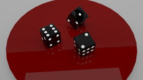 Rolling the Dice realistic 3d