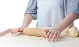 Rolling dough Stock Photos