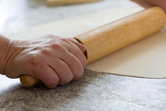 Rolling Dough Stock Photography