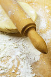 Rolling Dough Royalty Free Stock Photography
