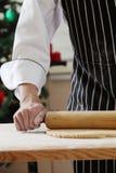 Rolling flour Stock Image