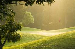 Rolling Green Royalty Free Stock Photography