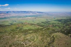 Foothills of Wyoming Rocky Mountains Royalty Free Stock Image