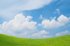 Rolling green hills Stock Photos