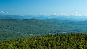 Rolling Green New Hampshire Hills Royalty Free Stock Photography