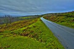 Rolling heuvels in Devon Royalty-vrije Stock Afbeeldingen