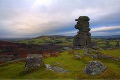 Rolling heuvels in Dorset Royalty-vrije Stock Afbeelding