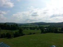 Rolling heuvels Kentucky Stock Foto