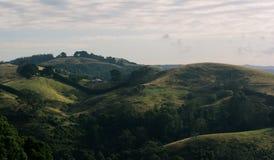 Rolling Hills на восходе солнца Стоковая Фотография