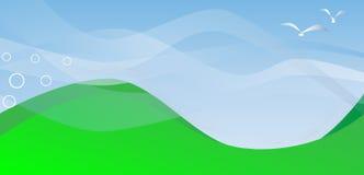 Rolling Hills illustrazione di stock