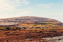 The rolling hills of Burren Royalty Free Stock Photography