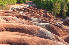Rolling hills of Cheltenham Badlands Stock Images