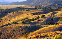 Rolling hills in Colorado Royalty Free Stock Image