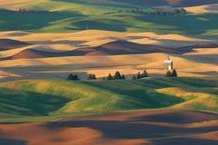 Rolling Hills der Palouse-Region Lizenzfreie Stockbilder