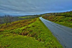 Rolling hills in Devon Royalty Free Stock Images
