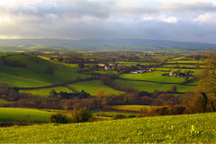 Rolling hills in Dorset Royalty Free Stock Image