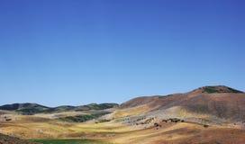 Rolling Hills landskap. USA arkivbild