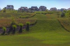 Rolling Hills nell'Utah vivente suburbian Fotografia Stock Libera da Diritti