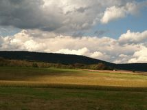 Rolling Hills. Nice scenery in PA Stock Image